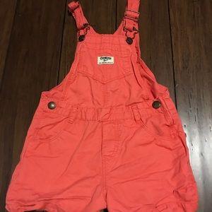 Baby girl Oshkosh overalls